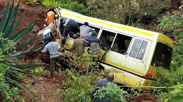Tanzanie : 35 morts dans un accident de bus