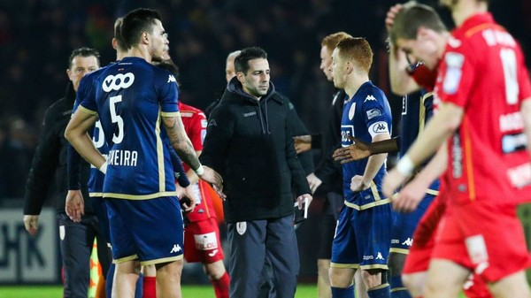 """Ferrera: """"Ostende a eu toute la réussite du monde en un match"""""""