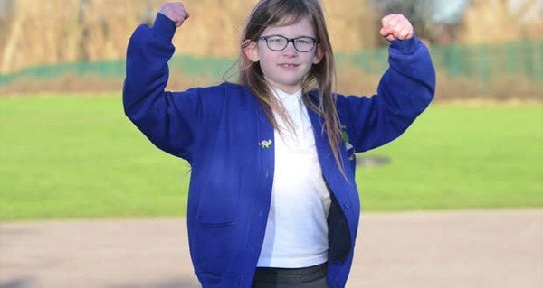 Olivia Farnsworth : une fillette bionique