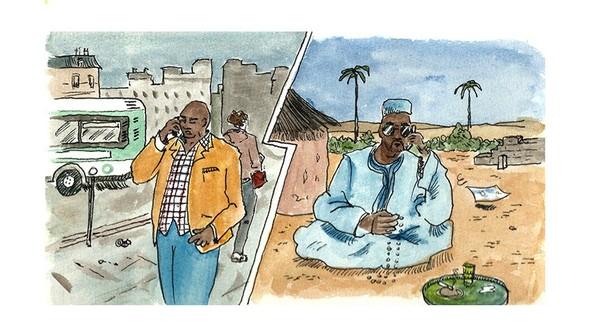 Maraboutage, les brouteurs ivoiriens sont passés maîtres dans l'arnaque - Les vis-à-vis de FBIYAY