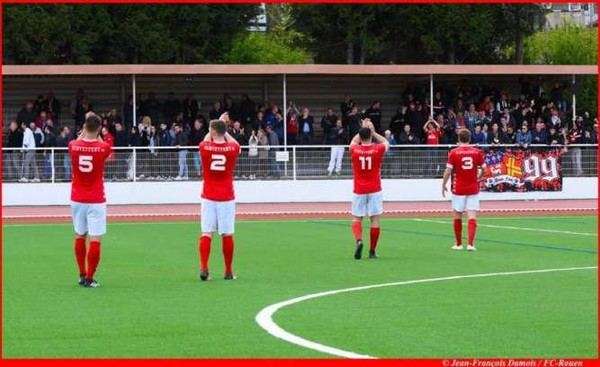 FCR - FC Rouen - Romilly Pt St Pierre : 3-1