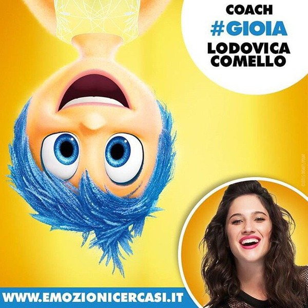 """Lodovica Comello on Instagram: """"Quest'estate ci divertiamo!!! #EMOZIONIcercasi #Gioia #InsideOut 😜👏🏼☀️"""""""