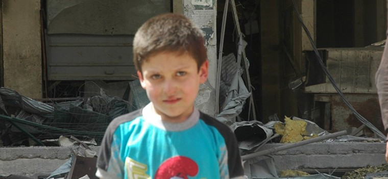 Un second petit Syrien évoque le tournage de la vidéo sur «l'attaque chimique» à Douma