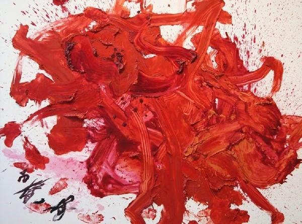 Exposition Art Blog: Kazuo Shiraga - Gutai avant-garde movement