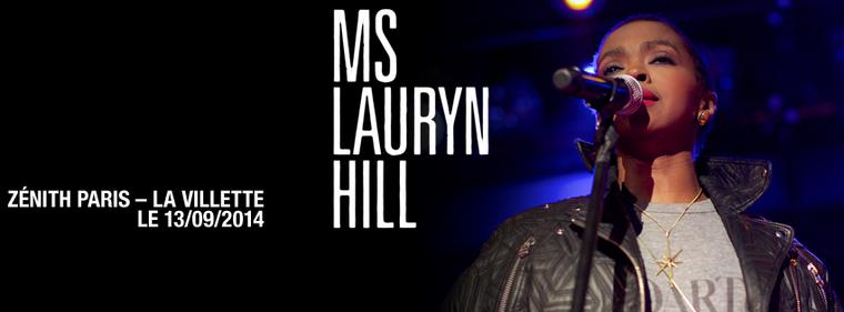 Ms.Lauryn Hill @Zénith de Paris