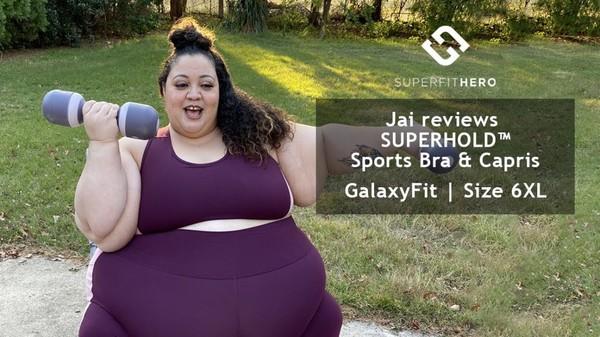 Jai reviews Superfit Hero SUPERHOLD™ Set in size GalaxyFit (6XL)