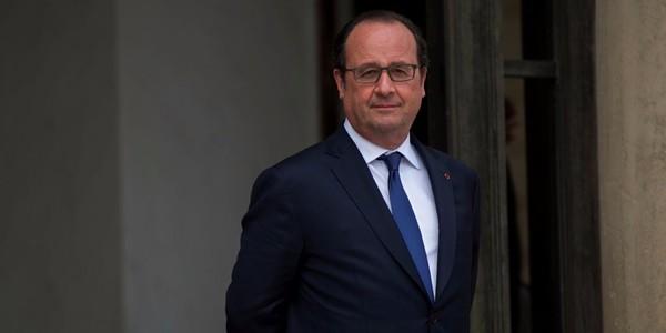 """Hollande élu """"Homme d'Etat mondial"""" de l'année"""