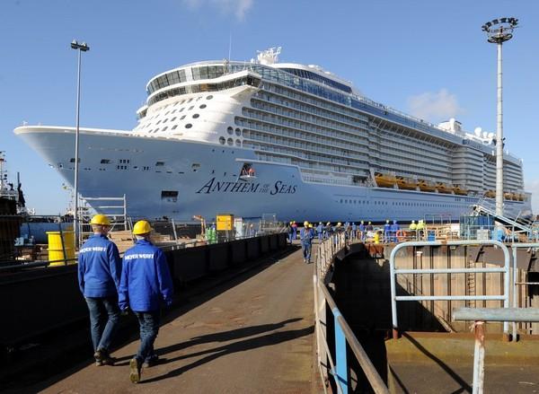 Zeebrugge, hôte du troisième plus grand bateau de croisière au monde
