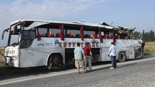 Huit morts dans un accident d'autocar en Bulgarie