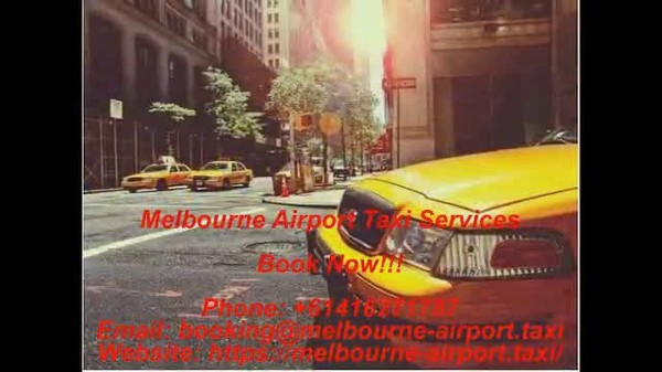Melbourne Airport Taxi Services - Book a taxi cab online - Streamable