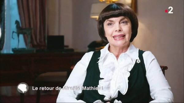C'est au programme Le retour de Mireille Mathieu !