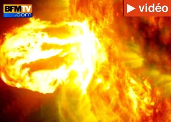 La Nasa filme une impressionnante éruption solaire