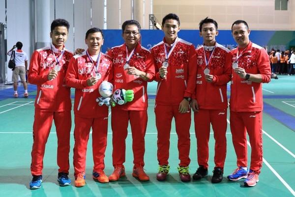 Ada Lima Wakil dari Indonesia Yang Tercatat Menyumbang 12 Gelar