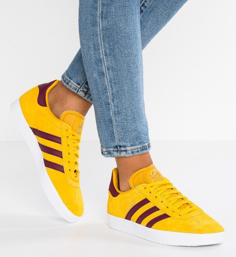 magasin d'usine d76df 49a03 Adidas Originals GAZELLE EXCLUSIVE Baskets basses ray yellow ...