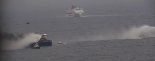 Norman Atlantic. Un mort et plus de 300 passagers bloqués à bord