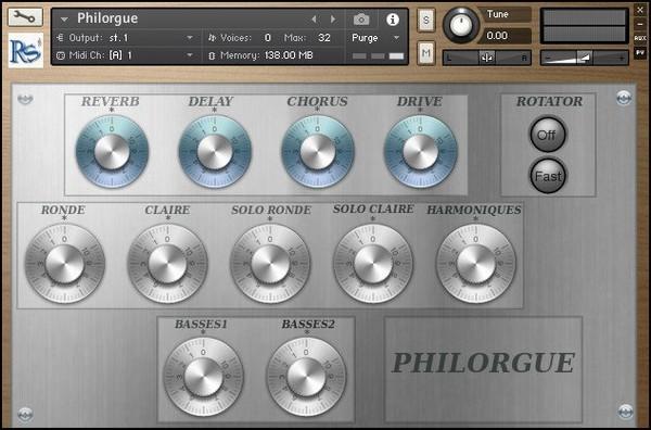 Philorgue - Rossignol-Studio