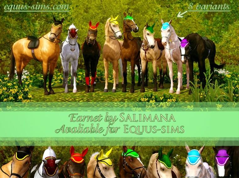 Equus-Sims Forum - Salimana's Quater Sheet & Earnet, Nalejn's sulky