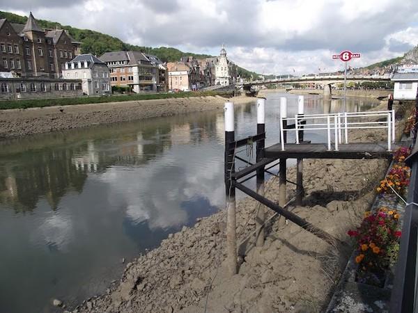 Mes parcours des voies d'eau par Pierre Lemoine: Chômage de la Haute Meuse