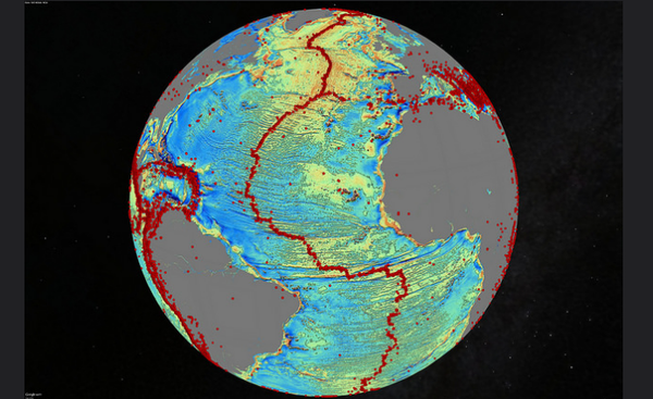 Thousands of undersea volcanoes revealed in new map of ocean floor