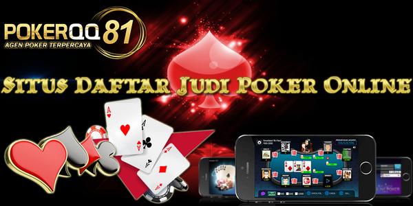 List Daftar Agen Poker Terpercaya