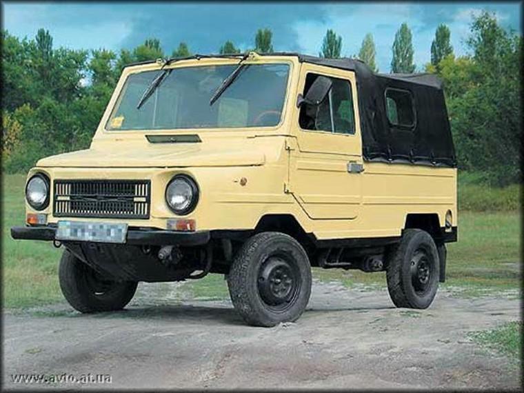 Car: Иностранные автомобили, похожие на ЛуАЗ-969М