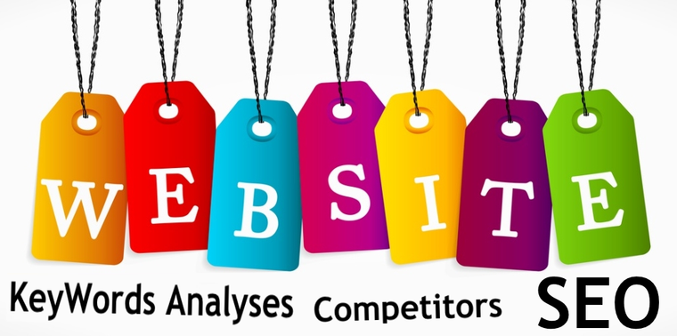 Keywords Analyses, Competitors, Potential and SEO for Web Site