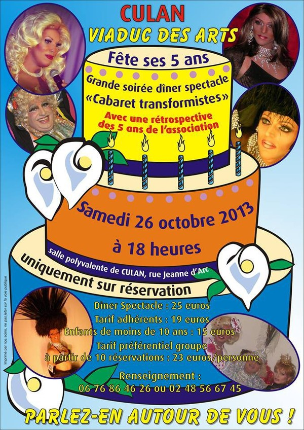 Repas + spectacle cabaret - OnVaSortir! Bourges