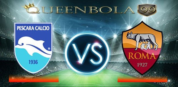 Prediksi Pescara vs AS Roma 25 April 2017