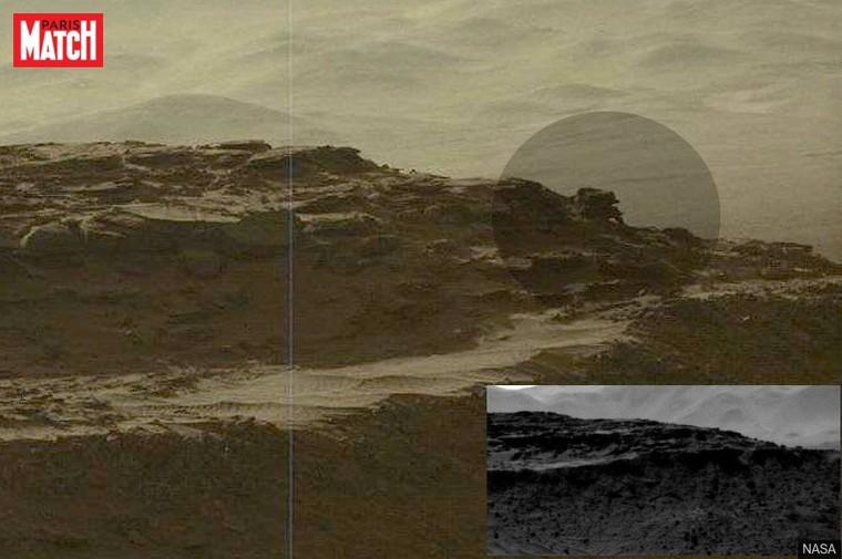 Sur Mars, Curiosity dévoile une nouvelle anomalie