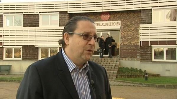 """Pascal Darmon, ancien président du FCR : """"Je n'ai rien à me reprocher"""" - France 3 Haute-Normandie"""