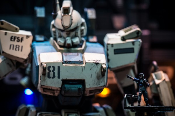 MG 1/100 Gundam Ez-8 diorama by zteng. Via... - Superficial Internet Complex