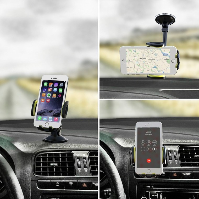 Top 5 Best unique 3-in-1 Multifunctional Car Mount For iPhone 7 and Others