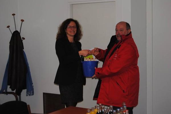 CGSP-ADMI-OUEST | La CGSP CHARLEROI s'est rendue ce mercredi 25/03/2015 au siège du MR à Bruxelles