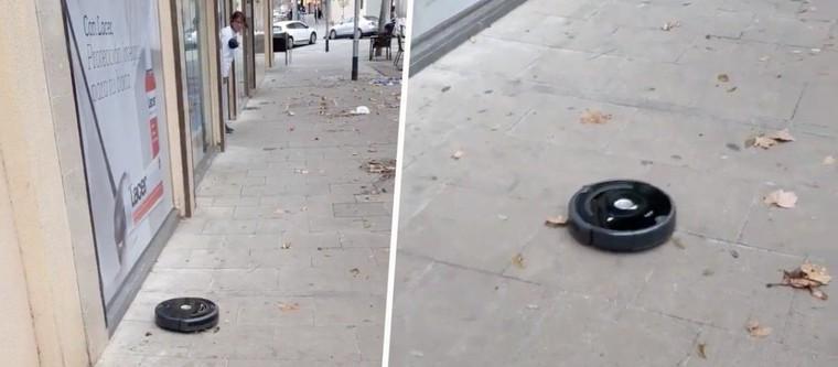 Un robot aspirateur s'échappe... et se met à aspirer les rues de sa ville - Emplois du temps / loisirs et cadeaux de noël