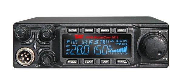 TEAM HAM MobileCom 1011 Mobilfunkgerät mit Umschaltanleitung 10+11+12 Meter