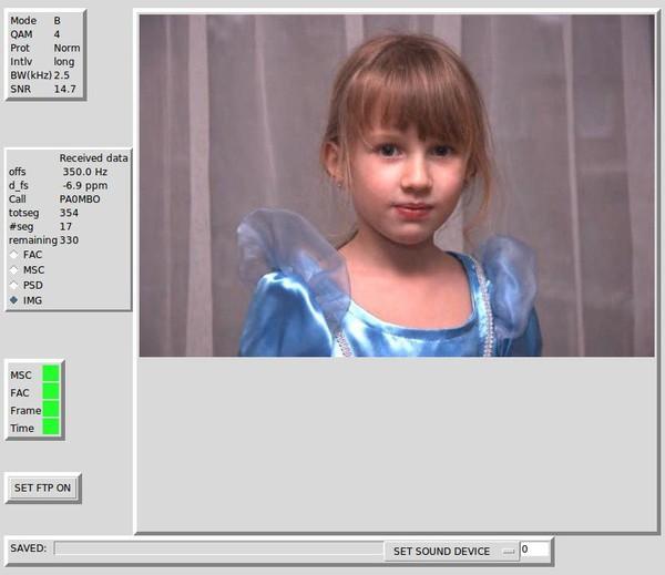 DIGITAL (DRM) SSTV FOR LINUX