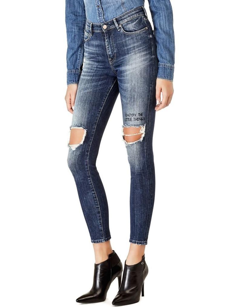 JEAN SKINNY A$AP ROCKY Guess - Jeans Femme Guess - Ventes-pas-cher.com