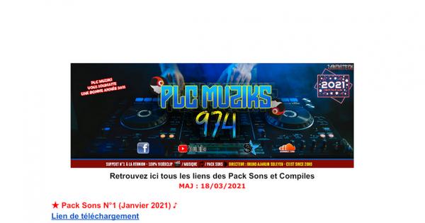 Pack Sons - Compiles by PLC Muziks 974