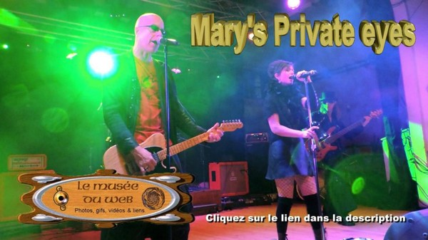 le musee du web :: Mary's Private Eyes.