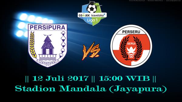 Prediksi Persipura vs Perseru Serui 12 July 2017 Liga 1 Indonesia
