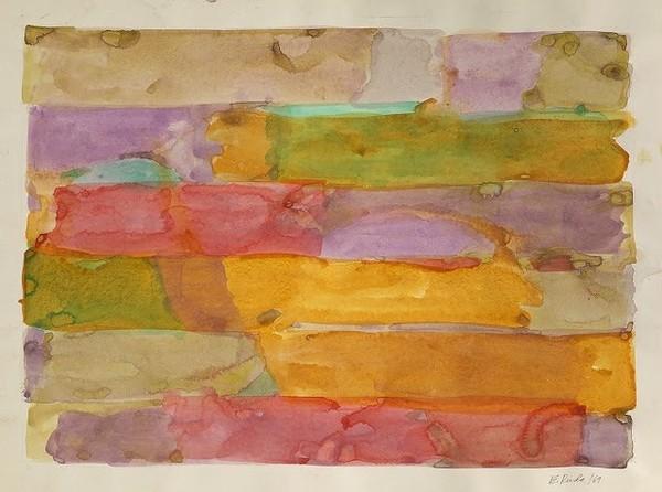 Exposition Art Blog: Edwin Ruda - Between Minimalism and Geometric Abstraction