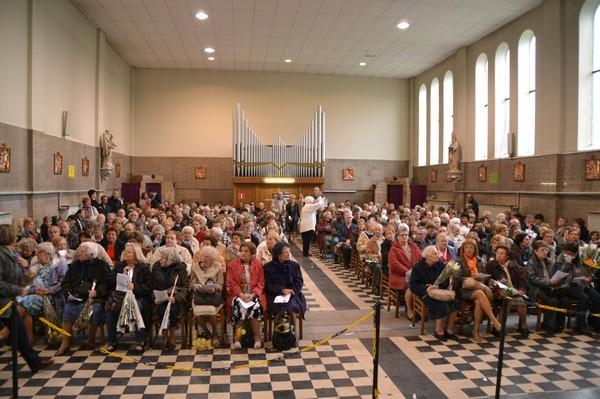 Diocèse de Tournai - Marchienne-au-Pont - Marchienne-au-Pont : on prie sainte Rita avec ferveur