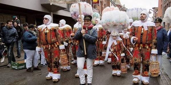 Charleroi : le carnaval renaît de ses cendres