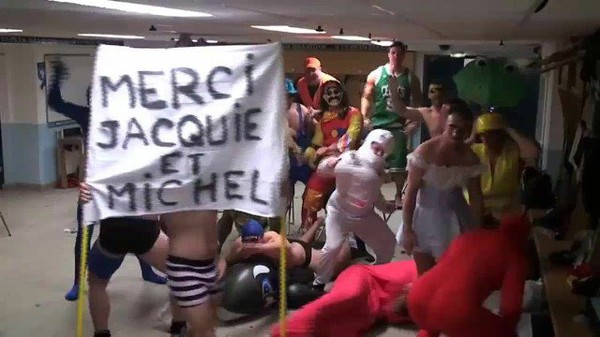 Harlem Shake Colomiers Rugby pro hommage j et m - Une vidéo Jacquie et Michel TV