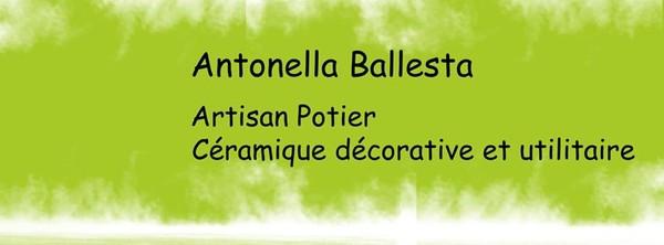 Céramique Antonella Ballesta