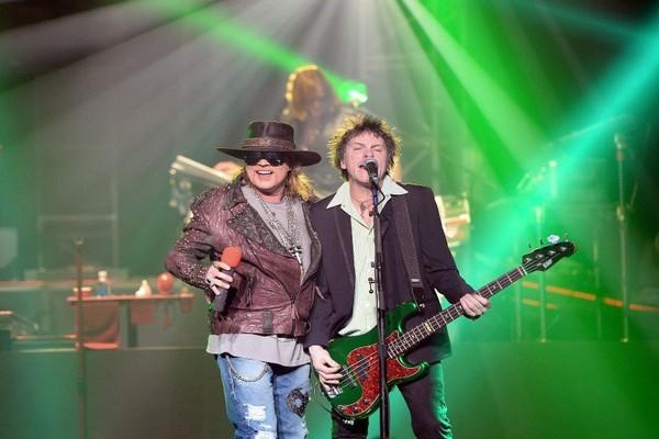 Les Guns N'Roses sont-ils en train de se reformer ?