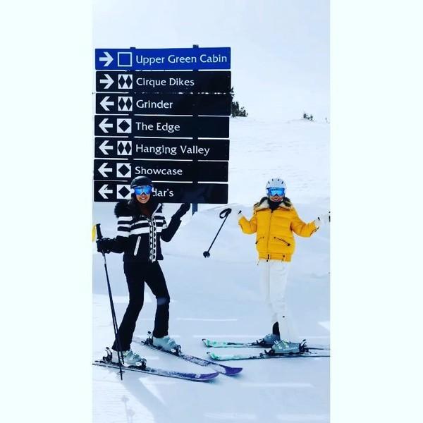 "Ayda Field Williams on Instagram: ""Which way should we go? 😳#laurensilverman #wcw #speedmachines"""