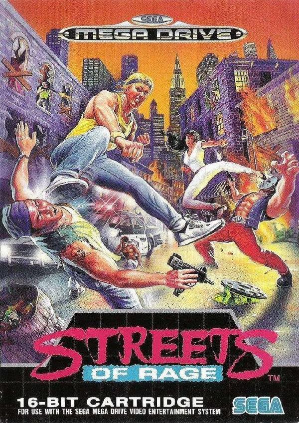 [RT] Trilogie Street Of Rage - 1991 - MegaDrive