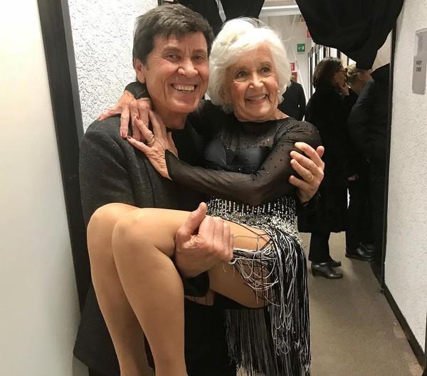 """Gianni Morandi on Instagram: """"Paddy, la magnifica ballerina de """"Lo Stato Sociale"""""""""""
