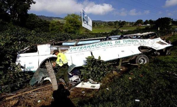 Colombie : au moins 26 morts dans un accident d'autocar